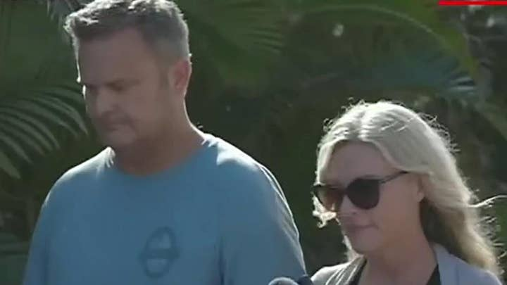 Mother, stepfather of missing Idaho siblings found in Hawaii, confronted by reporter