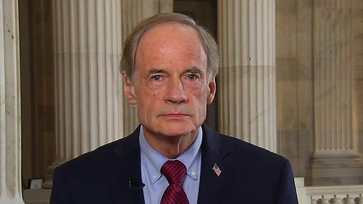 Sen. Carper on if it was a mistake for House not to subpoena Bolton