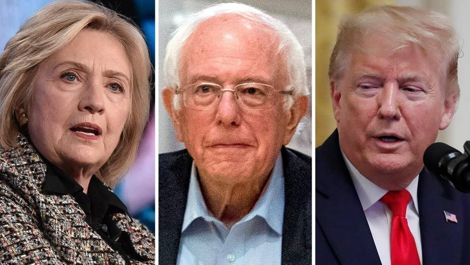 Hillary vs. Bernie vs. Donald