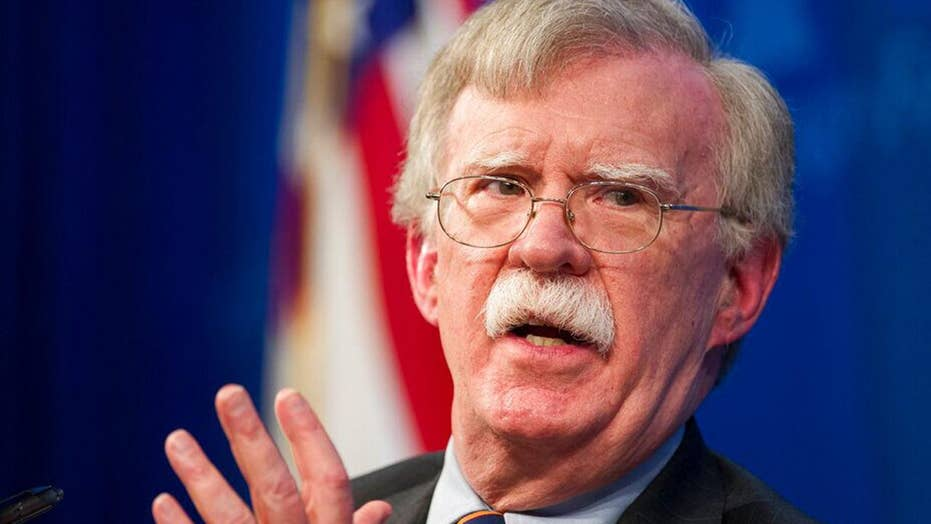 White House: Bolton Ukraine claims are untrue, timing is 'very suspect'
