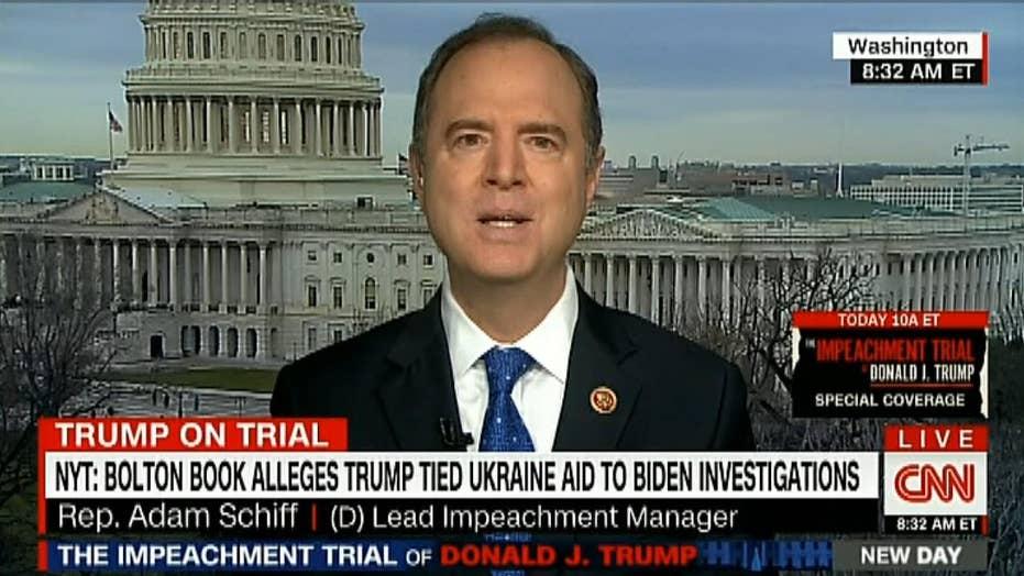 Adam Schiff: Bolton's claim 'blasts another hole' in Trump's impeachment defense