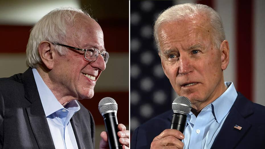 Biden, Sanders carve out clear lead in latest Fox News national poll on Democrat primary race