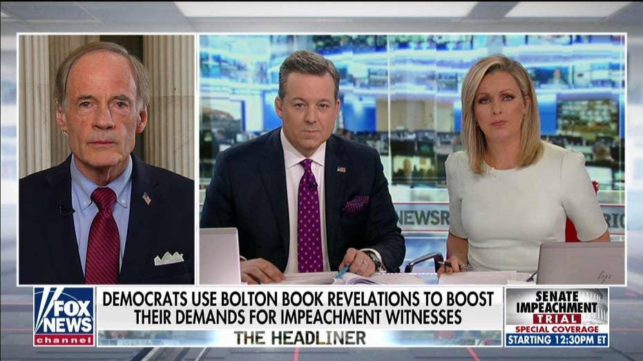 Sen. Tom Carper on Bolton testimony: GOP senators cannot be 'afraid' of the truth
