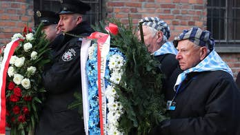 Holocaust survivors mark 75th anniversary of Auschwitz liberation with 'new urgency' amid rise in anti-Semitism