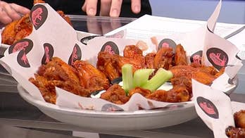 Americans eat a record 1.4 billion wings on Super Bowl Sunday