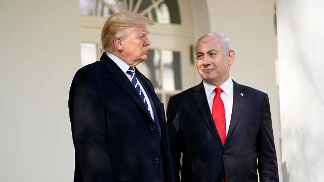 Trump delivers joint remarks with the Israeli Prime Minister