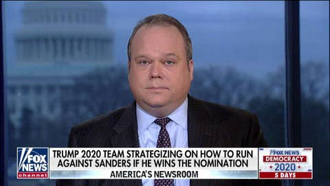 Chris Stirewalt: Why a Sanders nomination would concern Trump, mean a 'wipe-out' for suburban Dems
