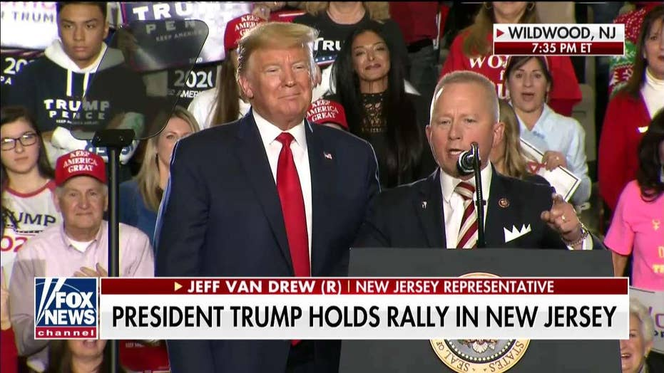 Trump lauds 'courageous' party-switcher Jeff Van Drew at South Jersey rally: He had enough of Democrats' socialism
