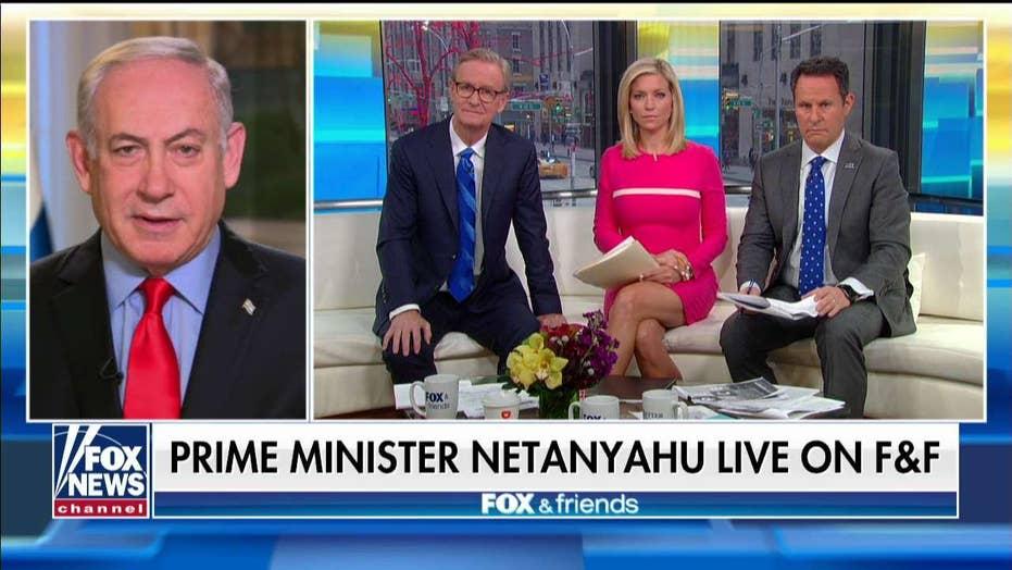 Biden, Israeli PM Netanyahu have 'warm and friendly' talk
