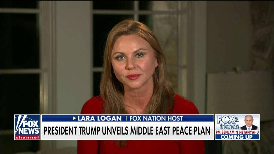 Lara Logan on the media's reaction to Trump's Middle East peace plan