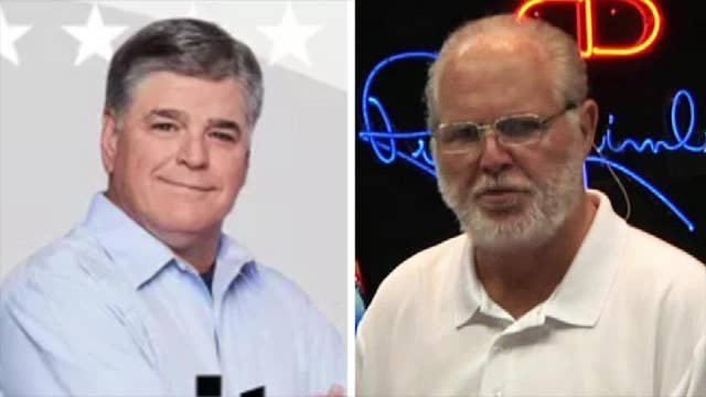 Sean Hannity praying for a speedy recovery for Rush Limbaugh