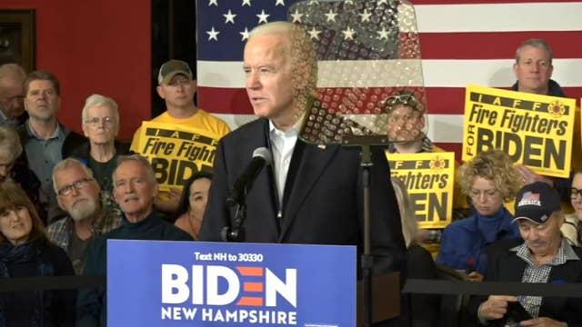 Joe Biden admits his campaign took 'a gut punch in Iowa'