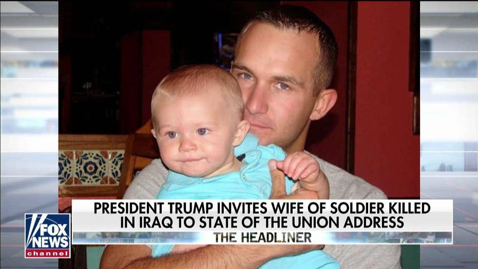 Family of a soldier killed in Iraq -- who were the president's State of the Union guests -- call for action