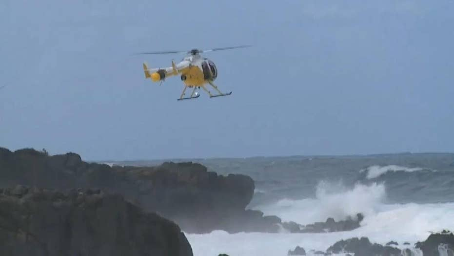 Search for missing swimmer swept out to sea in Hawaii