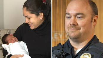 Utah police officer helps deliver baby on side of the road