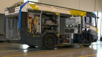 Is this plug-in electric fire truck the future of firefighting?