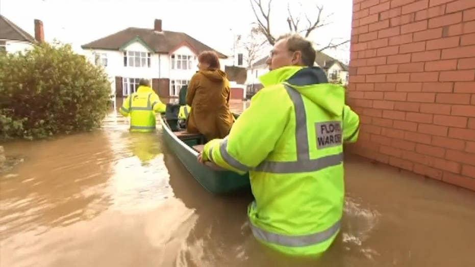 Boris Johnson hit for Storm Dennis flood response, minister says no visit is to 'avoid media jamboree'