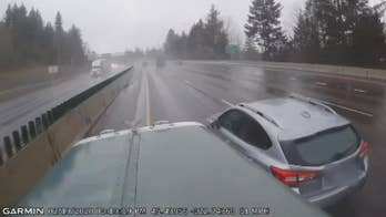 Trucker catches dangerous road rage incident on camera