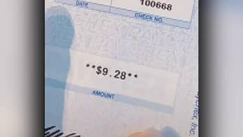 Bartender uses her paycheck to illustrate the importance of tipping