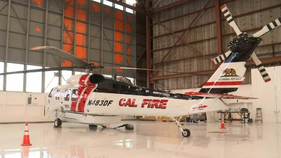 Cal Fire calls new fleet of high-tech helicopters an 'absolute game-changer'