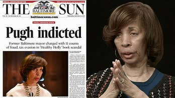 Former Baltimore Mayor Catherine Pugh apologizes before tax evasion sentencing