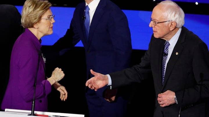 Warren struggles in her own home state as Sanders targets Massachusetts