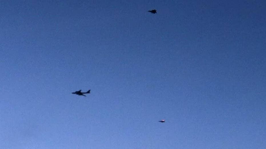 US, Canadian fighter jets intercept Russian aircraft near Alaska