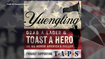 Veterans receive extra support from America's oldest brewery during coronavirus pandemic