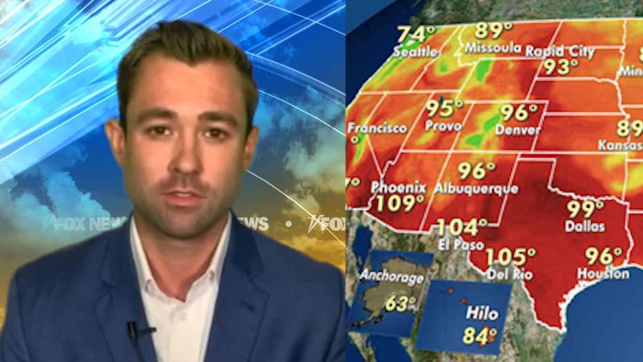 National forecast for Tuesday, August 11