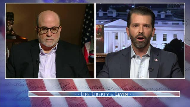 Donald Trump Jr: Joe Biden has 'liberal privilege', enabling him to 'lie and flip-flop' but be reported a 'moderate'