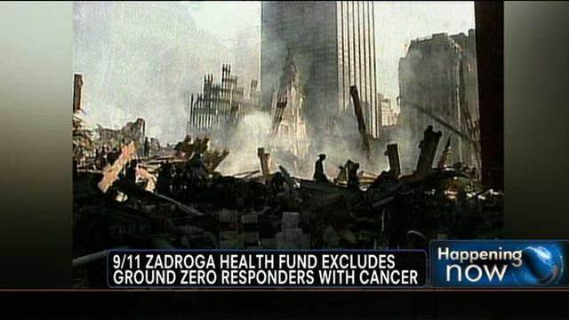 9/11 Zadroga Health Fund Excludes Ground Zero Responders with Cancer