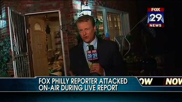 VIDEO: Fox Philadelphia Reporter Attacked During On-Air Live Report