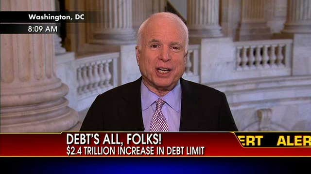 Sen. John McCain: I Am Confident We Can Come Up With An Agreement