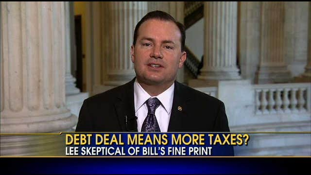 Senator Mike Lee on Debt Deal: We Have No Business to Raise the Debt Limit