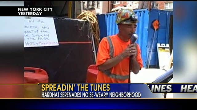 VIDEO: Iron Worker Speadin' the Tunes on the Streets of NYC