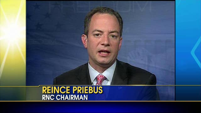 Reince Priebus on Obama's Leadership: He is in a Constant Addiction of Campaigning