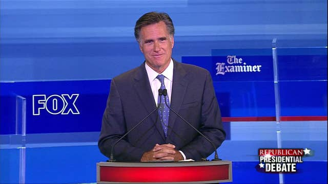 Mitt Romney Explains the Differences between Obamacare and Romneycare