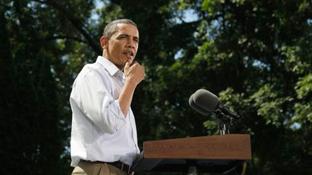President: 'No Problem With Folks Saying Obama Cares'