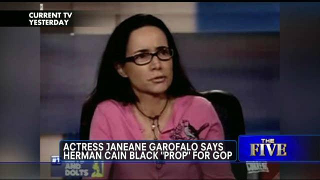 "Janeane Garofalo Accuses GOP of Using Herman Cain ""Because He's Black"""