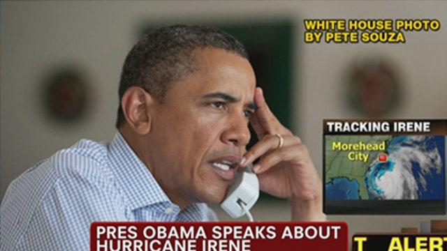 VIDEO: President Obama Speaks Out on Hurricane Irene