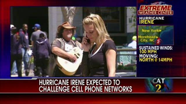 Hurricane Irene Expected to Challenge Cellphone Networks