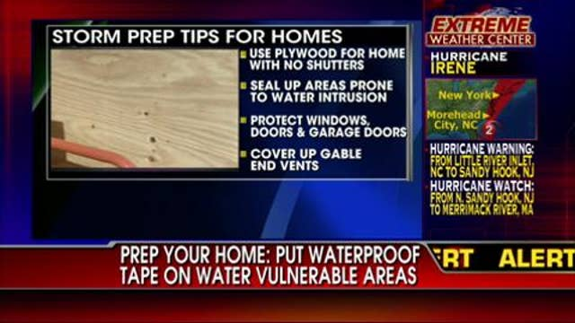 Hurricane Irene: Preparation Tips for Your Home & Business