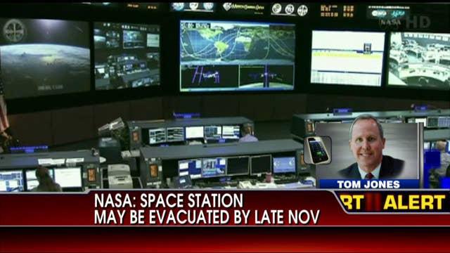 NASA: Space Station May Be Evacuated by Late November