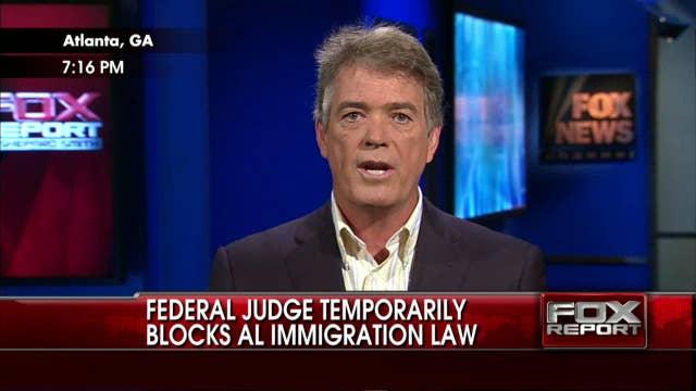 Federal Judge Temporarily Blocks AL Immigration Law