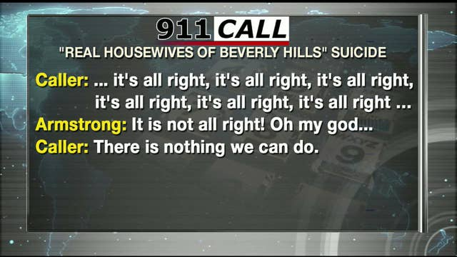911 AUDIO TAPE: The Real Housewives of Beverly Hills Star Russell Armstrong Found Dead