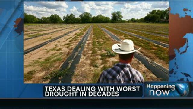 Texas Deals With Worst Drought in Decades