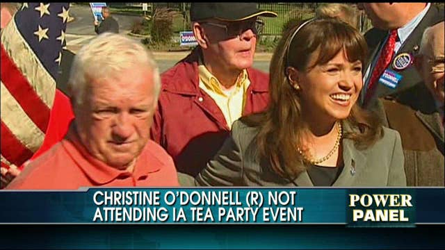 Christine O'Donnell Not Attending IA Tea Party Event