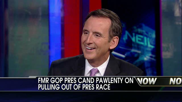 Tim Pawlenty on Why He Pulled Out of the Presidential Race