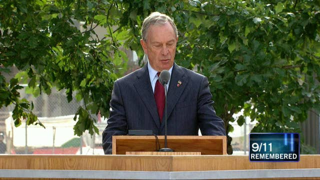 VIDEO: Mayor Michael Bloomberg Introduces Families to Announce Loved Ones Lost on 9/11
