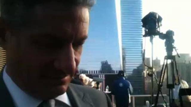 Video: Fox News Crews Set Up at 9/11 Memorial